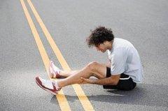 跑步体育健身避免膝盖受伤