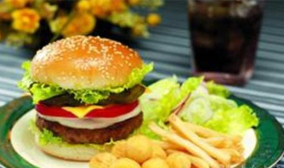 现在开个小点的汉堡店得多少钱?
